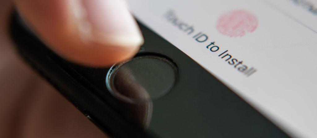 Не работает Touch ID на iPhone